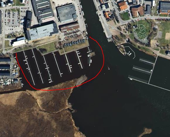 Båtplatser Nyköpings hamn (Spelhagen)